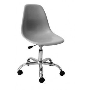 Cadeira DKR de Polipropileno Giratória