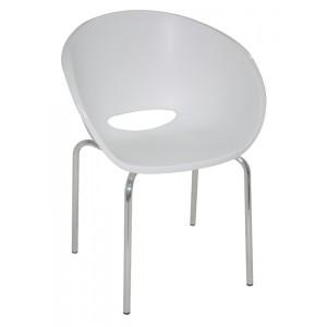 Cadeira Elena - Base Polida
